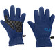 Jack Wolfskin Fleece Gloves Children blue